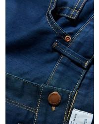 Mango Skinny Navy Jude Jeans