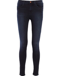 J Brand Maria Mid Rise Skinny Jeans