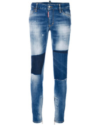Dsquared2 Medium Waisted Skinny Jeans