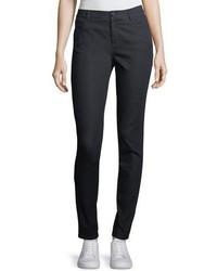 Lafayette 148 New York Mercer Primo Stretch Denim Mid Rise Skinny Jeans