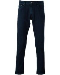 e893e9274bdd Men's Navy Jeans by Michael Kors | Men's Fashion | Lookastic.com