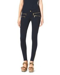 Michael Kors Michl Kors Zip Pocket Stretch Twill Skinny Jeans