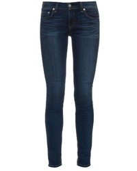 Rag & Bone Mid Rise Skinny Jeans