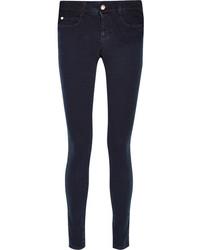 Stella McCartney Mid Rise Skinny Jeans Navy