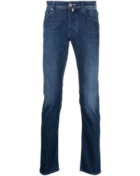 Jacob Cohen Mid Rise Slim Fit Jeans