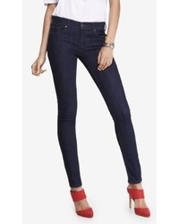 Express Mid Rise Stretch Jean Legging