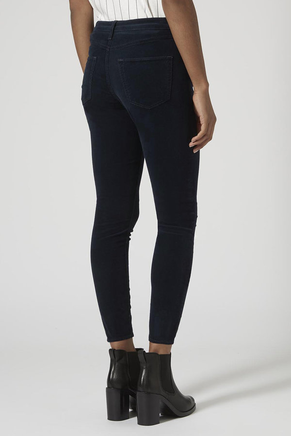 low priced new appearance on wholesale Topshop Moto Cord Jamie Jeans, $75 | Topshop | Lookastic.com