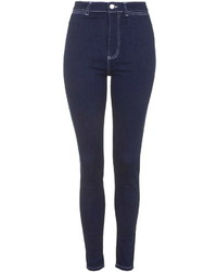 Topshop Moto Saddle Stitch Joni Jeans