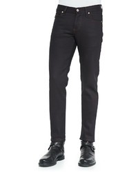 Naked And Famous Denim Stretch Woven Skinny Fit Jeans Indigo
