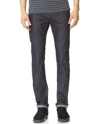 Naked & Famous Denim Naked Famous Skinny Guy Jeans In Raw Stretch Denim