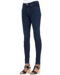 Eileen Fisher Organic Soft Stretch Skinny Jeans Washed Indigo Petite