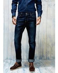 Mango Outlet Outlet Slim Fit Dark Wash Steve Jeans