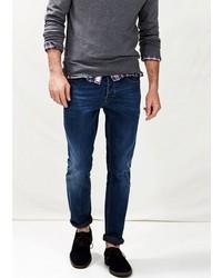Mango Outlet Outlet Slim Fit Navy Tim Jeans