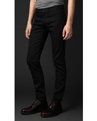 Burberry Prorsum Skinny Fit Black Selvedge Jeans