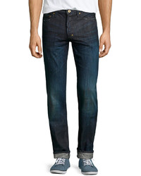 PRPS Rambler Low Rise Skinny Fit Jeans Dark 1 Year Wash