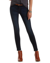 Charlotte Russe Refuge Skin Tight Legging Dark Wash Jeans