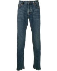 Valentino Rockstud Embellished Slim Fit Jeans