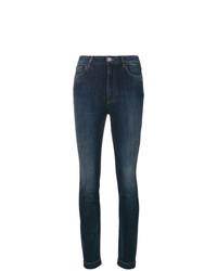 Dolce & Gabbana Sacred Heart Patch Skinny Jeans
