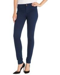 MiH Jeans Sea Dark Blue Wash The Bodycon Zipper High Waist Skinny Jeans