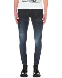 DSQUARED2 Sexy Twist Slim Fit Skinny Jeans