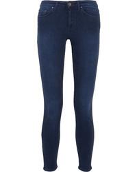 Acne Studios Skin 5 Mid Rise Skinny Jeans