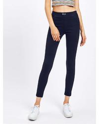 Romwe Skinny Ankle Jeans
