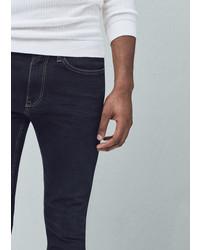 Mango Outlet Skinny Dark Wash Jude Jeans