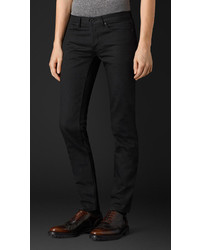 Burberry Skinny Fit Black Selvedge Jeans