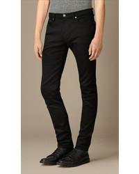 Burberry Skinny Fit Deep Black Jeans