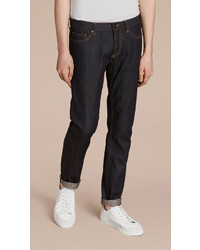 Burberry Skinny Fit Indigo Selvedge Jeans