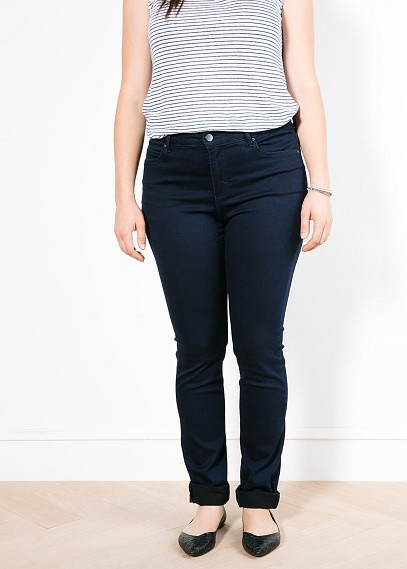Violeta BY MANGO Slim Fit Vibrant Jeans