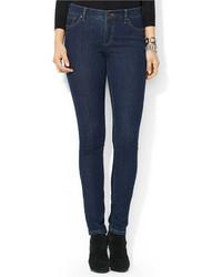 Lauren Ralph Lauren Stretch Modern Skinny Jeans Indigo Wash