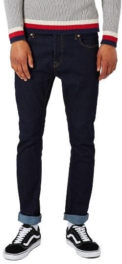 Topman Stretch Skinny Fit Raw Denim Jeans 60 Nordstrom