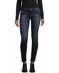 True Religion Super Skinny Flap Cotton Jeans