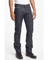 Naked & Famous Denim Super Skinny Guy Skinny Fit Raw Selvedge Jeans