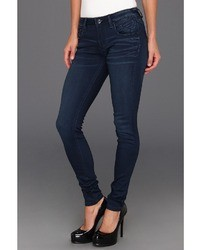 Vigoss Super Skinny Jagger In Dark Wash Apparel