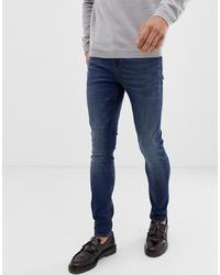 ASOS DESIGN Super Skinny Jeans In Dark Wash