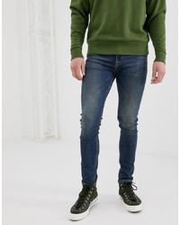 ASOS DESIGN Super Skinny Jeans In Vintage Dark Wash