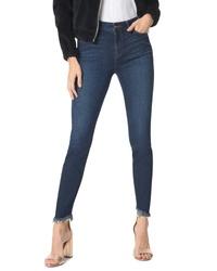 Sam Edelman The Kitten Frayed Ankle Skinny Jeans