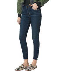 Sam Edelman The Kitten Side Slit Ankle Skinny Jeans