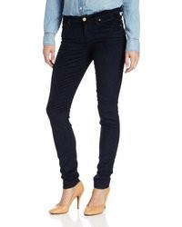 7 For All Mankind The Skinny Jean With Contour Waistband In Solid Sateen Cord