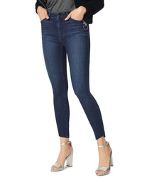 Sam Edelman The Stiletto Angled Raw Hem Ankle Skinny Jeans
