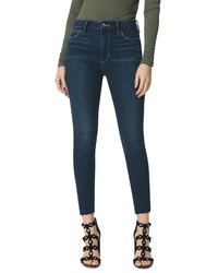 Sam Edelman The Stiletto High Waist Raw Hem Crop Skinny Jeans