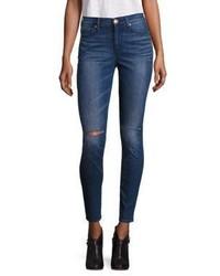 True Religion Halle Super Skinny Knee Slit Jeans