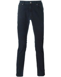 Versace Jacquard Skinny Jeans