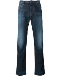 Armani Jeans Washed Straight Jeans