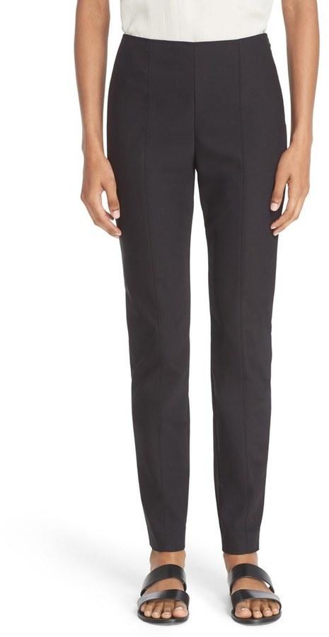 St. John Collection Alexa Scuba Bi Stretch Slim Crop Pants