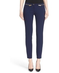 Collection zip detail skinny cady ankle pants medium 517404