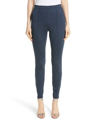 St. John Collection Melange Stretch Ponte Crop Pants