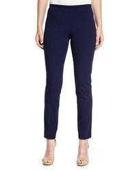 Michl kors collection side zip skinny pants maritime medium 911692